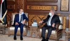 المشرفية: لمسنا تسهيلات كبيرة من الجانب السوري لعودة النازحين