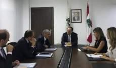 بطيش استقبل سفير الاتحاد الأوروبي ووفدًا من نقابة أصحاب الأفران