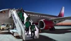 """""""الخطوط الجوية السعودية"""": طائرة المنتخب السعودي التي تعرضت لعطل ليست تابعة لنا"""