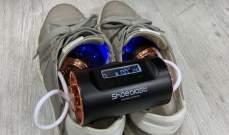 """""""Shoe-blast"""" جهاز يجفف ويطهر ويعقم الأحذية"""