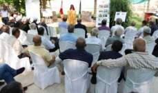 """""""ESFD"""" يوزع شهادات على المتدربين في برنامج الارشاد الزراعي"""