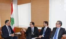 قطّار يبحث والسفير الفرنسي البرامج والمشاريع المشتركة