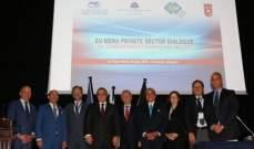 فتوح في مؤتمر الحوار المصرفي العربي الاوروبي: ساهمنا ونساهم بتوثيق العلاقات بيننا وبين أوروبا
