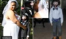 بـ500 دولار تزوجت دميتها الزومبي!