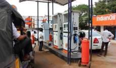 واردات الخام والطلب على الوقود في الهند تراجعت الشهر الماضي