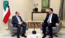 الرئيسان عون ودياب وقعا مرسوم قبول استقالة حتي ومرسوم تعيين شربل وهبة وزيراً للخارجية