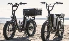 """""""radrunner"""" دراجة كهربائية جديدة بمقعدين ومساحة تخزين"""