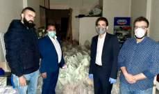 """""""هيئة الطوارئ المدنية لمكافحة كورونا"""" توزّع 900 حصة غذائية للعائلات الأكثر حاجة"""