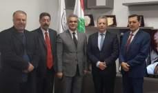 أبي خليل يلتقي اللجنة المشتركة اللبنانية السورية حول الأحواض المائية