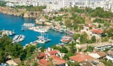 ارتفاع مبيعات أنطاليا التركية من العقارات للأجانب خلال العام الحالي