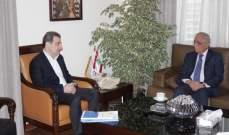 """ابو فاعور بعد لقائه رئيس """"ايدال"""": سنقدم اقتراحاً لاقرار مبلغ في موازنة الدولة لدعم تصدير الصادرات الصناعية"""