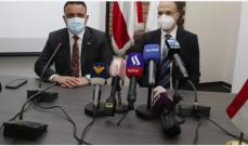 اتفاقيات ثنائية بين لبنان والعراق خلال زيارة وزير الصحة العراقي بيروت
