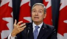 وزير الخارجية الكندي من بعبدا: الفساد يجب أن يتوقف...