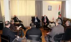 حب الله التقى وفد جمعية الصناعيين: لا يوجد بلد في العالم أقفل قطاعه الصناعي