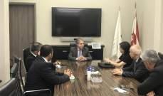 وزني يلتقي لجنة الرقابة على المصارف المعينة حديثا ومفوضة الحكومة لدى مصرف لبنان