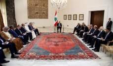 الرئيس عون يطالب الدول العربية بالمساعدة للنهوض بالاقتصاد مجدداً