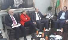 اللقيس يبحث سبل التعاون لزيادة حجم التبادل التجاري للسلع الزراعية مع الأردن