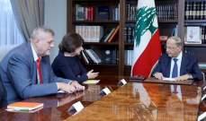 الرئيس عون: مشروع موازنة 2020 سيحمل إصلاحات تعزز الثقة بالاقتصاد