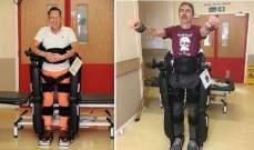 """""""ريكس"""" جهازروبوتي يساعد مرضى التصلب المتعدد على المشي"""