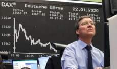 أسهم أوروبا تتراجع لكنها تتجه لتسجيل أفضل الأسابيع أداء منذ الأزمة المالية العالمية