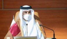 أمير قطر: العالم لم ينتقل إلى مرحلة ما بعد الجائحة لكن الإقتصاد ينمو