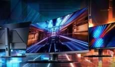 """3 شاشات جديدة من """"غيغابايت"""" لهواة الألعاب"""