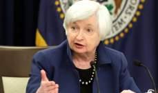 يلين: الولايات المتحدة لن تستهدف ضعف الدولار