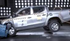 """شاحنة """"ميتسوبيشي"""" تفشل في اجتياز اختبار السلامة ضد الحوادث"""