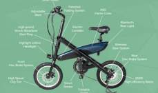 """SIVRA"" دراجة كهربائية قابلة للطي قادرة على حمل راكب بوزن 120 كيلوغرام"