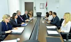 بطيش يعرض الوضع الاقتصادي الراهن مع مدير عام سياسة الجوار والتوسع في الاتحاد الاوروبي