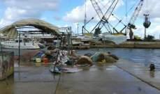 صيدا: توقف حركتي الملاحة والصيد البحري نتيجة المنخفض الجوي