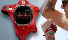 """""""ErgonBand"""" حزام يتيح النظر إلى الساعة بسهولة أثناء التمرين"""