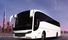 """إطلاق خط جديد للحافلات بين دبي والشارقة باسم """"E311"""""""