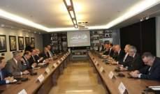 فنيانوس خلال اجتماعه مع الهيئات الاقتصادية: هناك صعوبات كبيرة في قطاع النقل أبرزها ما يتعلق بموضوع التمويل