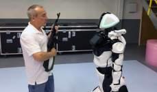 الكشف عن روبوت بوليسييخدم فيالشرطة الروسية