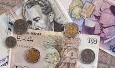 إنخفاض الأسهم الإسرائيلية وتراجع الشيكل بعد تصاعد موجة العنف
