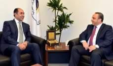 زكي بعد لقاء فتوح: الوضع الإقتصادي في لبنان هو سبب ونتيجة للأحداث الحالية