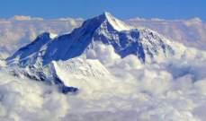 """نيبال تفتح إيفرست أمام السياح رغم استمرار تفشي """"كورونا"""""""