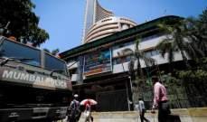 """الأسهم الهندية تتراجع ومؤشر """"سينسيكس"""" يهبط بنسبة 0.88%"""