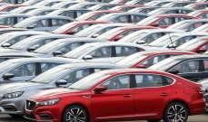 الصين.. توقعات بانخفاض مبيعات السيارات 8 % في 2020