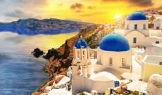 جزيرة سانتوريني اليونانية تستعد لعودة السياحة