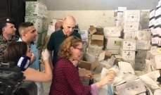 مدير عام وزارة الزراعة صادرأدوية وأسمدة زراعية مهربة وممنوعة من مخازن في حلبا