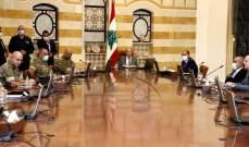 الرئيس عون يؤكد على الإستمرار في إزالة آثار الإنفجار وتوفير المساعدات للمتضررين