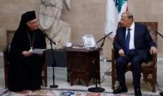 الرئيس عون: لن نسمح بالتعدي على مياهنا الإقليمية المعترف بها دولياً