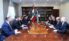 التقرير اليومي 20/12/2019: الرئيس عون استقبل السفير ديفيد هيل وعرض معه الاوضاع العامة في لبنان والمنطقة