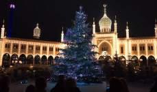 الدنمارك تستقبل عيد الميلاد بشجرة وصل سعرها إلى 135 ألف يورو