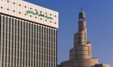 موجودات مصرف قطر المركزي تنمو 10 % في حزيران إلى 71 مليار دولار