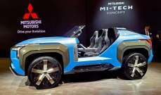 """""""ميتسوبيشي"""" تكشف عن أكثر السيارات غرابة وأناقة في العالم """"Mi-Tech"""""""