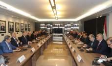الهيئة الاقتصادية تبحث مع باسيل المستجدات الحاصلة على المستويات الاقتصادية والمالية والاجتماعية