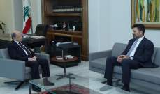 الرئيس عون يبحث مع غجر أوضاع وزارة الطاقة والمشاريع التابعة لها